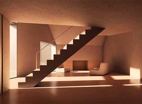 Stairs-Concrete-Moon-House-Design-by-Antonino-Cardillo-1