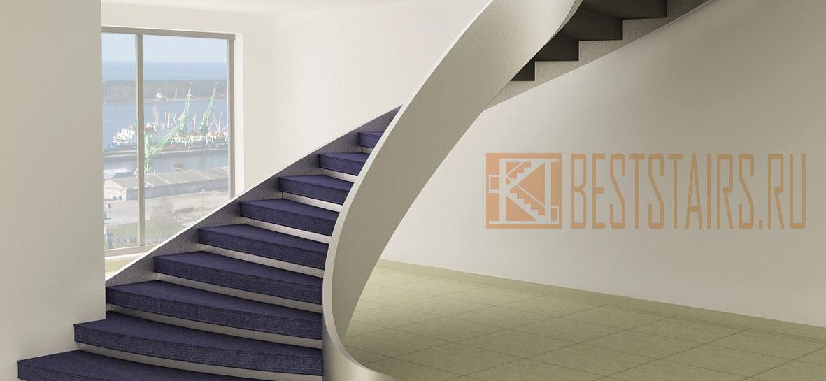 Бетонные лестницы: фото, строительство цены в Санкт-Петербурге